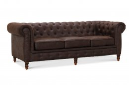 Cambridge 3-sits Vintage Chesterfield