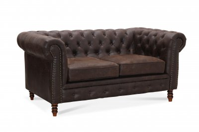 Cambridge 2-sits Vintage Chesterfield